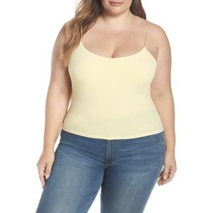 Leith Sexy Camisole Yellow 1X